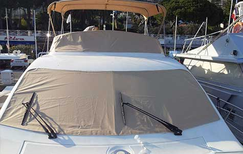 boat screen covers