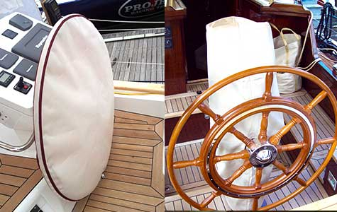 wheel and pedestal covers